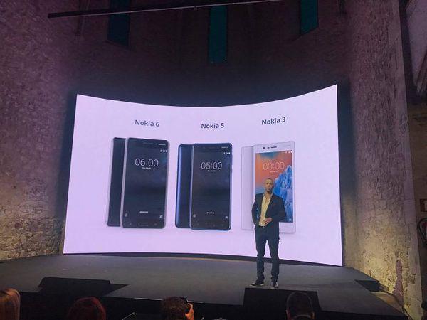 Nokia 6, Nokia 5 ja Nokia 3