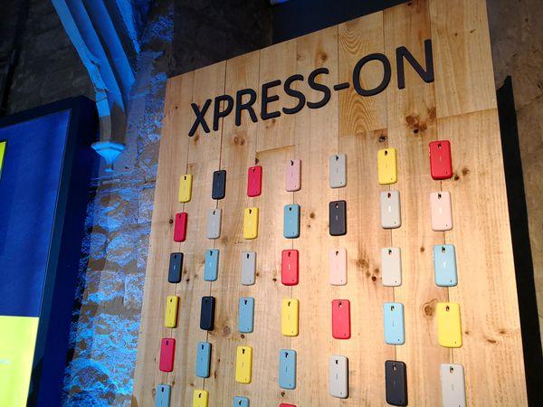 Nokia 1 merkitsee Xpress-on-värikuorten paluuta. Eri värisiä vaihtokuoria tuodaan myyntiin erikseen.