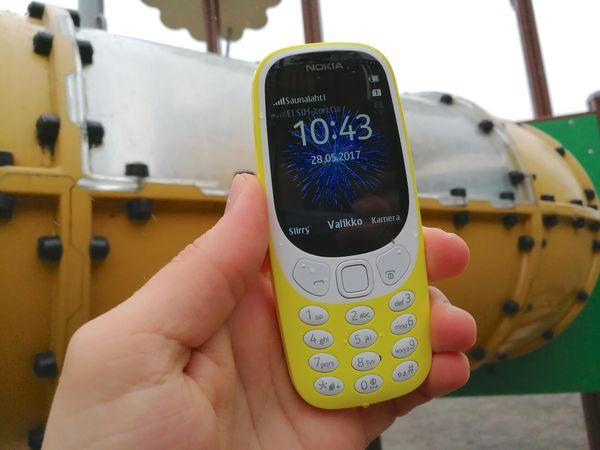 Uusi Nokia 3310.