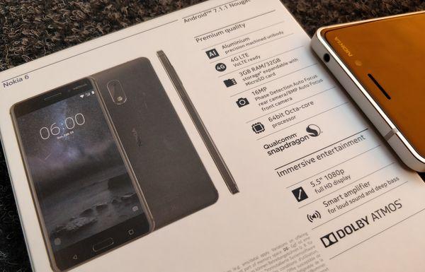 Nokia 6 on monipuolinen puhelin 249 euron hintaan.