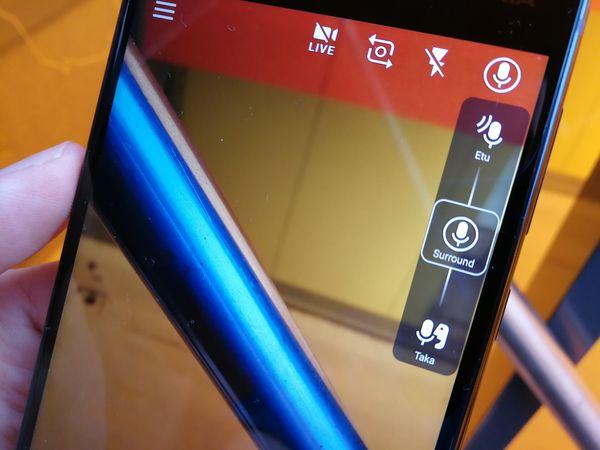 OZO Audio on Nokia 8:n videokuvauksen erikoisuus.