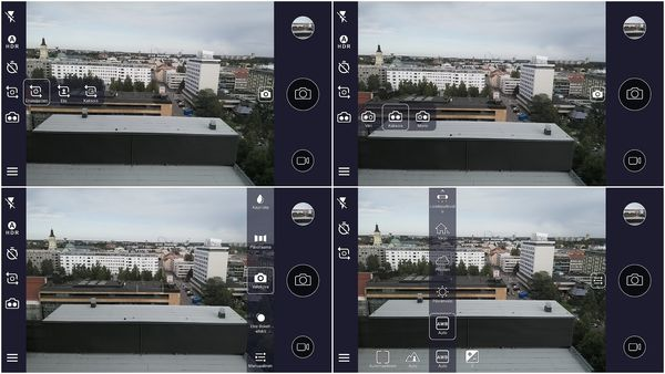 HMD:n kehittämä kamerasovellus ei ole vielä Nokia 8:ssakaan kovin hyvä. Tarjolla on monia vaihtoehtoja, mutta esimerkiksi yksityiskohtaiset manuaalisäädöt puuttuvat.
