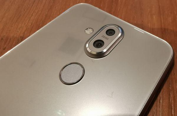 Nokia 8.1:n toinen kamera avustaa boke-efektin luomisessa, mutta ei tarjoa zoomia tai laajakulmaa.