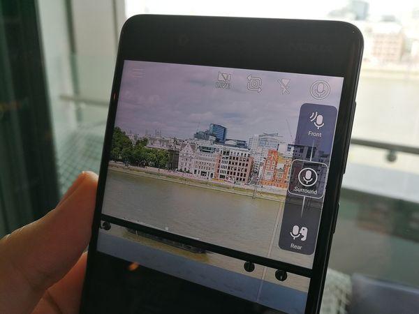 OZO Audio mahdollistaa videokuvauksessa äänentallennuksen säätämisen.
