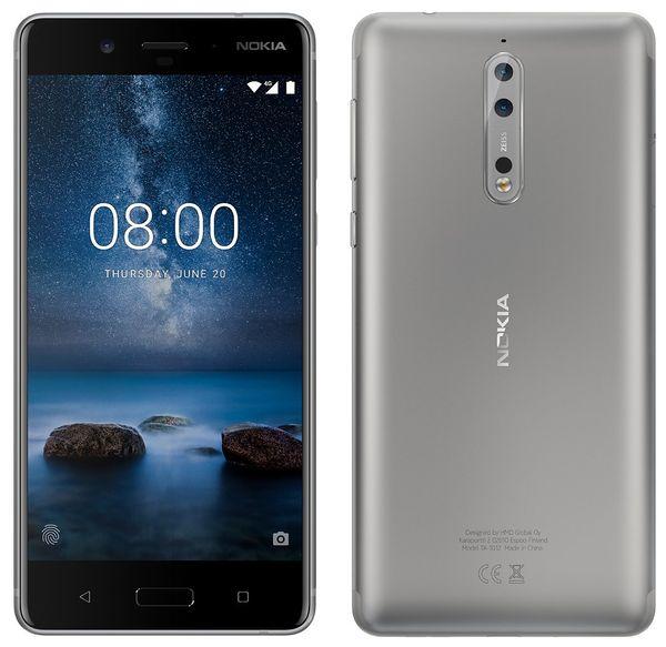Nokia 8 hopeana, Evan Blassin julkaisema kuva.