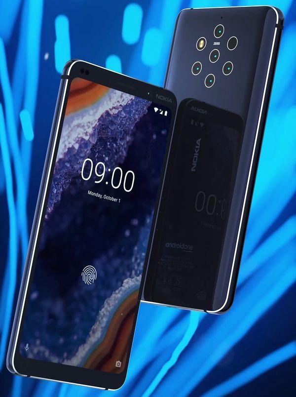 Nokia 9 PureView. Evan Blassin vuotama lehdistökuva.