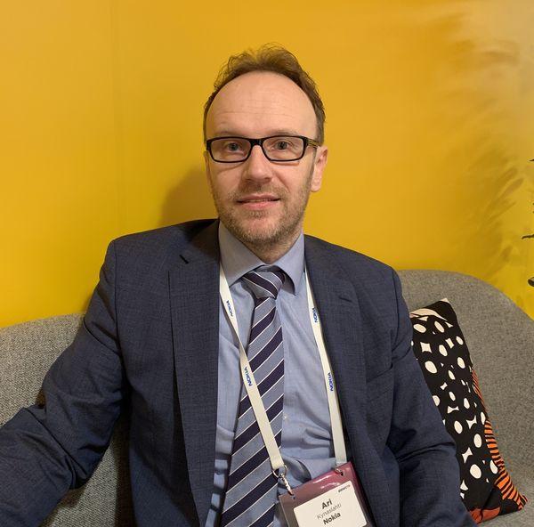 Nokian tuotehallinnan johtaja Ari Kynäslahti.