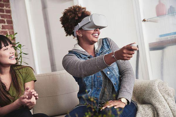 Oculus Go toimii ilman kaapelia ja älypuhelinta.