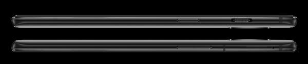 OnePlus 6T:n kyljeltä löytyy tietenkin yhä OnePlussan erikoisuus, eli kolmiasentoinen hiljennyskytkin.