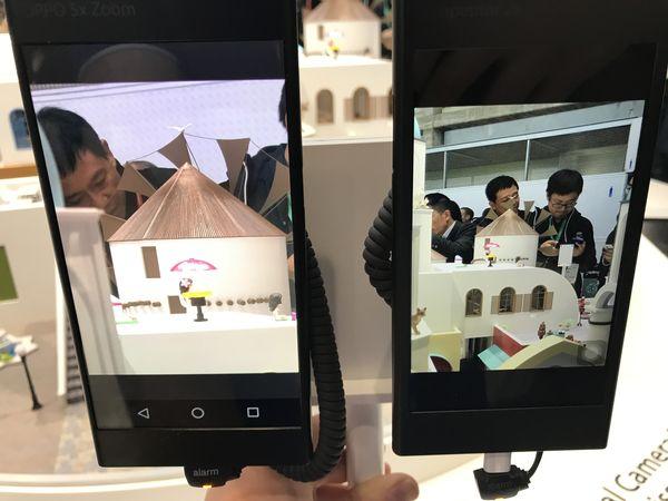 Oppo 5x zoom vs. iPhone 7 Plus 2x zoom.