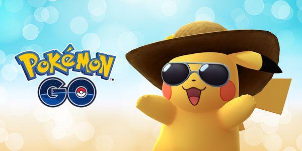 Kuvan mukaisesti pukeutunut Pikachu on napattavissa koko heinäkuun ajan.