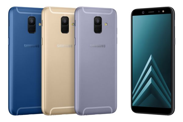 Samsung Galaxy A6:ssa takakameroita on vain yksi.