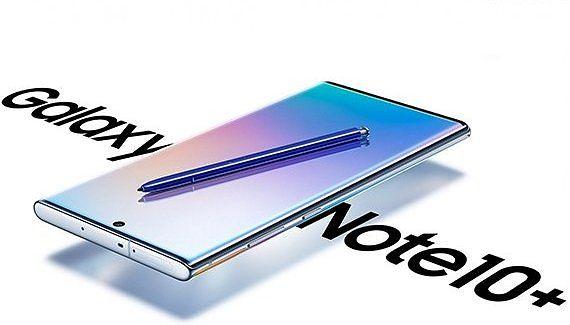 Samsung Galaxy Note10+. Kuva: Evan Blass.