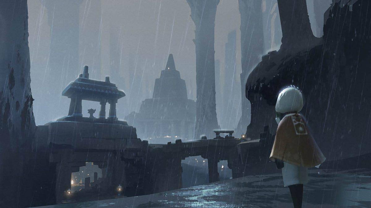 Peli sisältää myös synkempiä maailmoja.