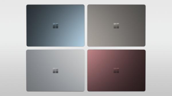 Surface Laptopista tutut värivaihtoehdot tulevat myös uusiin Surface Pron näppäimistösuojiin.