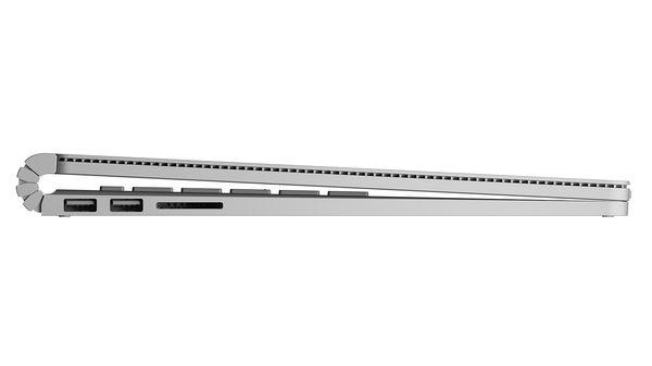 Surface Bookin saranaratkaisu erottuu massasta.