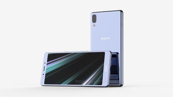 Sony Xperia L3 OnLeaksin yhdessä Pricebaba-sivuston kanssa julkaisemassa kuvassa.
