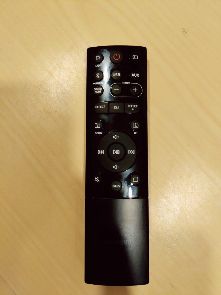 MX-T50 remote