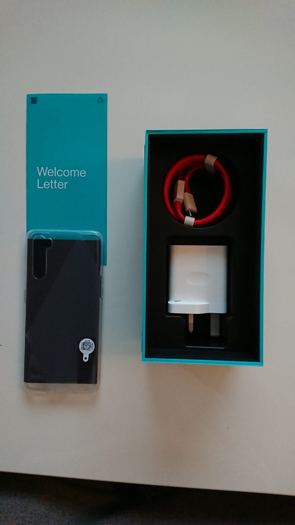 Oneplus Nord contents